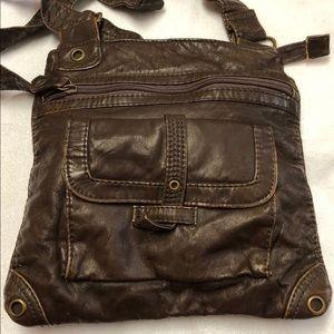 Handbags - Faux Leather Crossbody